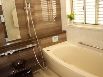 0.75坪から1坪の浴室へ増築してゆったりリラックス★