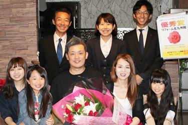 福喜 北九州 完成はイメージ以上で、家族全員大満足です。またぜひ、宜しくお願いします。