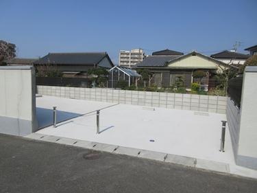 福喜 お庭が駐車場に生まれ変わり便利になりました!