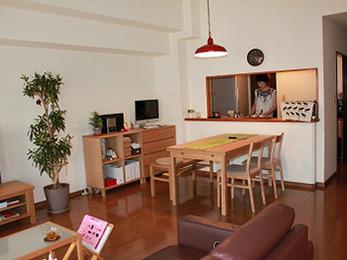 物置だったマンションが、心地よい住まいに変身しました。