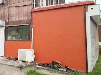 福喜の事務所・倉庫もスーパームキコート塗装