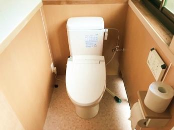 男女別トイレを一室に。ゆとりある希望の快適トイレへ